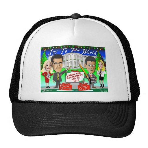 Happy Holidays New Management Trucker Hats
