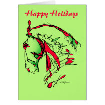 Happy Holidays_Noble Face Card