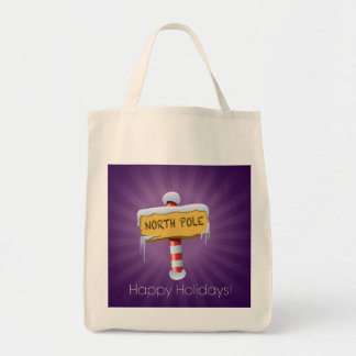 Happy Holidays North Pole Bags