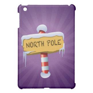 Happy Holidays North Pole iPad Mini Cases