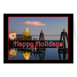 Happy Holidays on the Bay Cards