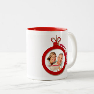 Happy Holidays. Personalized Christmas Mugs