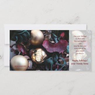 Happy Holidays Photo Card (2) - Use Your Photo