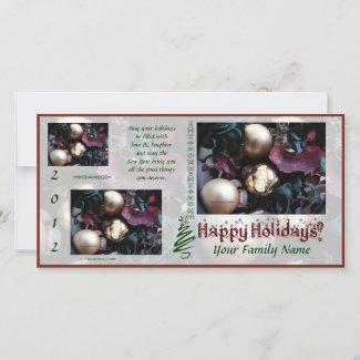 Happy Holidays Photo Card (3) - Use Your Photos