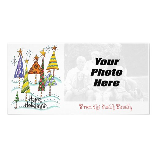 Happy Holidays Photo Cards