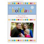 Happy Holidays Photo Greeting Card