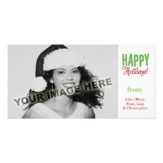 Happy Holidays Photo Card