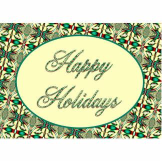 Happy Holidays Photo Cutouts