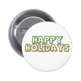 Happy Holidays Pin