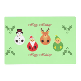 Happy Holidays! Placemat