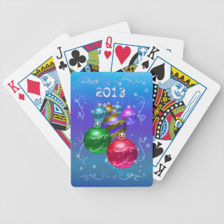 Happy Holidays! Bicycle Playing Cards