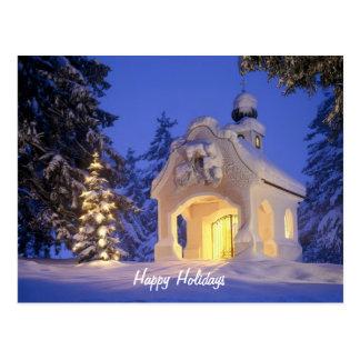 Happy Holidays Post Card