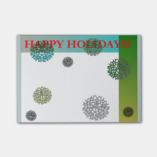Happy Holidays Post-it Notes