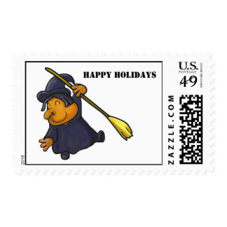 Happy Holidays Postage