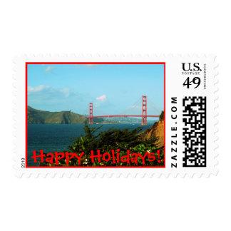 Happy Holidays ! Postage