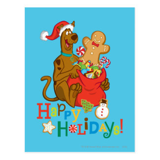 Happy Holidays! Postcard