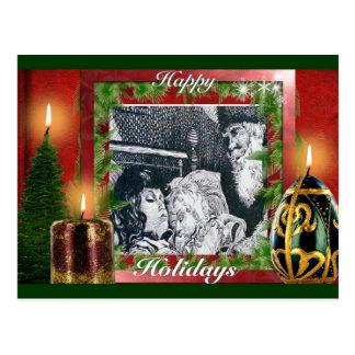 Happy Holidays Postcards