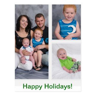 Happy Holidays! Postcard