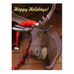 Happy Holidays Postcard