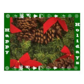 Happy Holidays Postcard