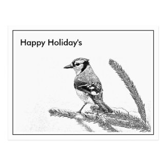 Happy Holiday's Postcard