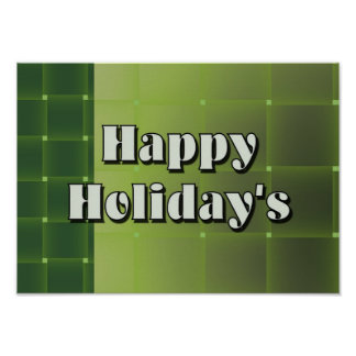 Happy Holiday's Poster