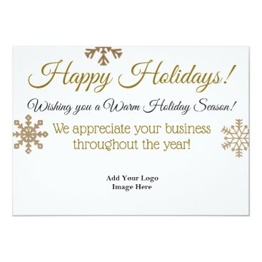 Professional Business Happy Holidays Professional Custom Business Card