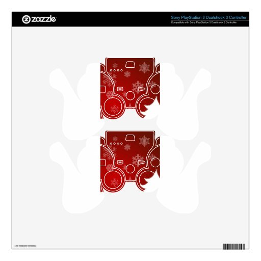 HAPPY HOLIDAYS PS3 CONTROLLER DECAL