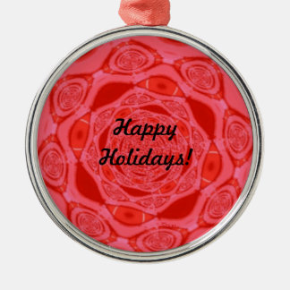 Happy Holidays Red Premium Ornament