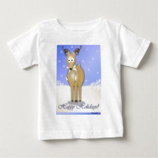 Happy Holidays Reindeer Tee Shirt