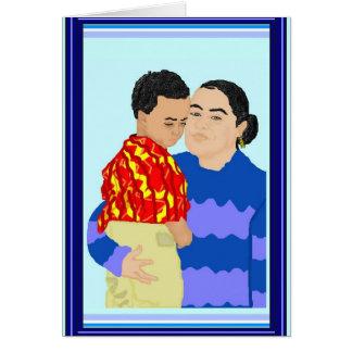 Happy Holidays (Riva and Son) Card