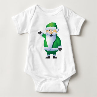 Happy Holidays Santa Baby Bodysuit