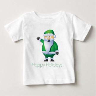 Happy Holidays Santa Baby T-Shirt
