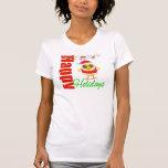 Happy Holidays Santa Chick v2 Shirt
