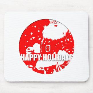 Happy Holidays - Santa Claus - Mouse Pad