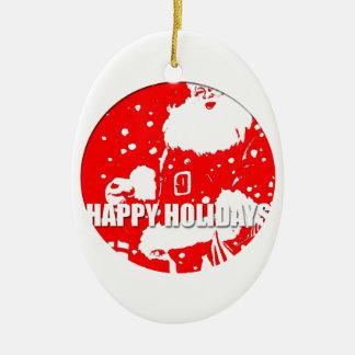Happy Holidays - Santa Claus - Ornament