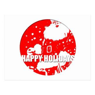 Happy Holidays - Santa Claus - Postcards