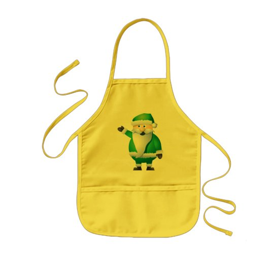 Happy Holidays Santa Kids' Apron