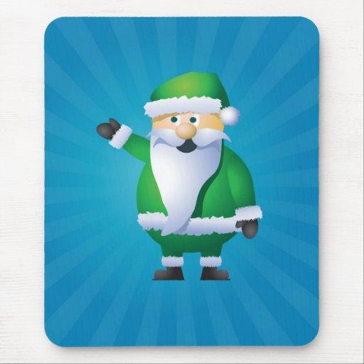 Happy Holidays Santa Mouse Pad