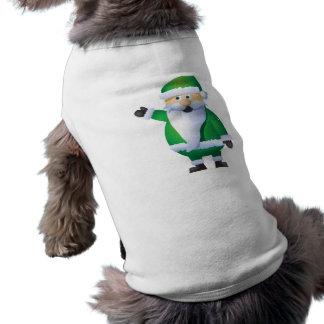 Happy Holidays Santa Pet Clothes
