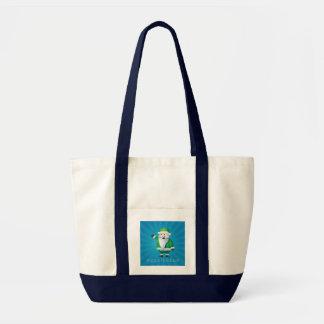 Happy Holidays Santa Tote Bag