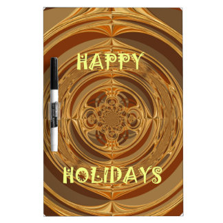 Happy Holidays Seamless Hakuna Matata Seasonal Gif Dry-Erase Board