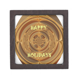 Happy Holidays Seamless Hakuna Matata Seasonal Gif Gift Box