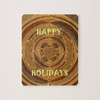 Happy Holidays Seamless Hakuna Matata Seasonal Gif Jigsaw Puzzle