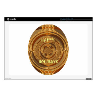 Happy Holidays Seamless Hakuna Matata Seasonal Gif Laptop Skin