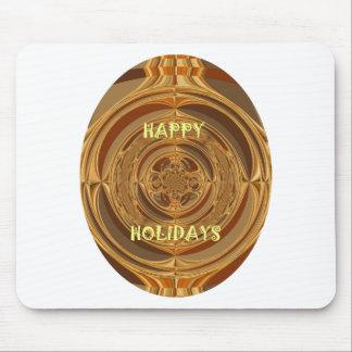 Happy Holidays Seamless Hakuna Matata Seasonal Gif Mouse Pad