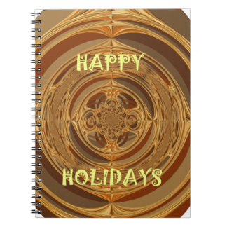 Happy Holidays Seamless Hakuna Matata Seasonal Gif Notebook