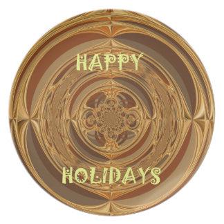 Happy Holidays Seamless Hakuna Matata Seasonal Gif Plate