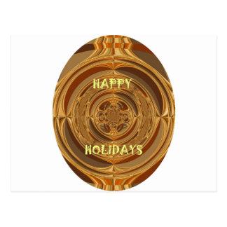 Happy Holidays Seamless Hakuna Matata Seasonal Gif Postcard