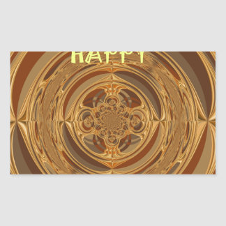 Happy Holidays Seamless Hakuna Matata Seasonal Gif Rectangular Sticker